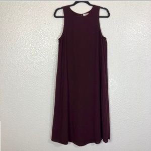 Wilfred Aritzia Sleeveless Shift Dress